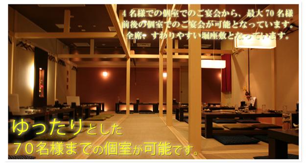 大人数 富山駅前 宴会